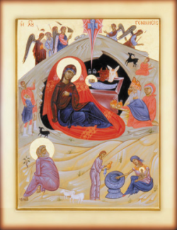 Icon of the Nativity